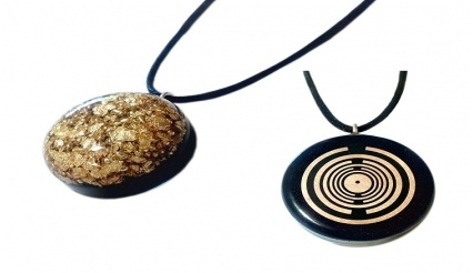 Orgone - Golden Touch (Orgone Pendant Gold (MWO) - Utilize the power of Gold!)