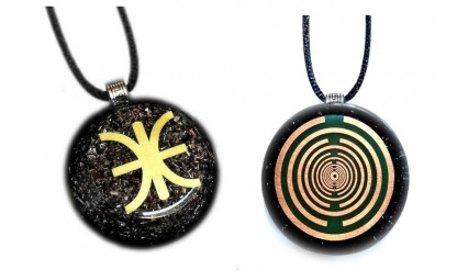 Orgone - The Mystery of Delphi (The Custom-Made Orgone Pendant that incorporates the Delphic Mysteries)