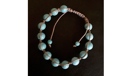 Hemera' Breath (Energy Infused Bracelet), Receive Day's breath of life! Howlite gemstones, Protection, Charm, Reiki Charged